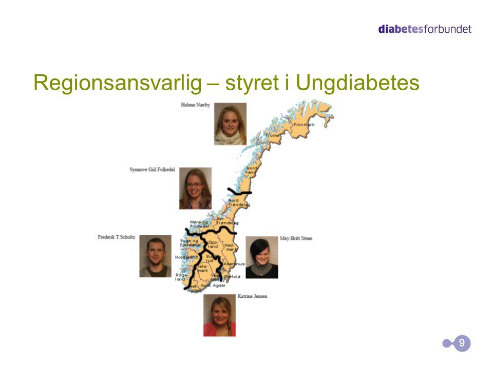 Diabetesforbundet •Diabetesforbundet er en frivillig organisasjon hvor mesteparten av arbeidet som gjøres ute i fylkes- og lokallag, gjøres på fritiden.
