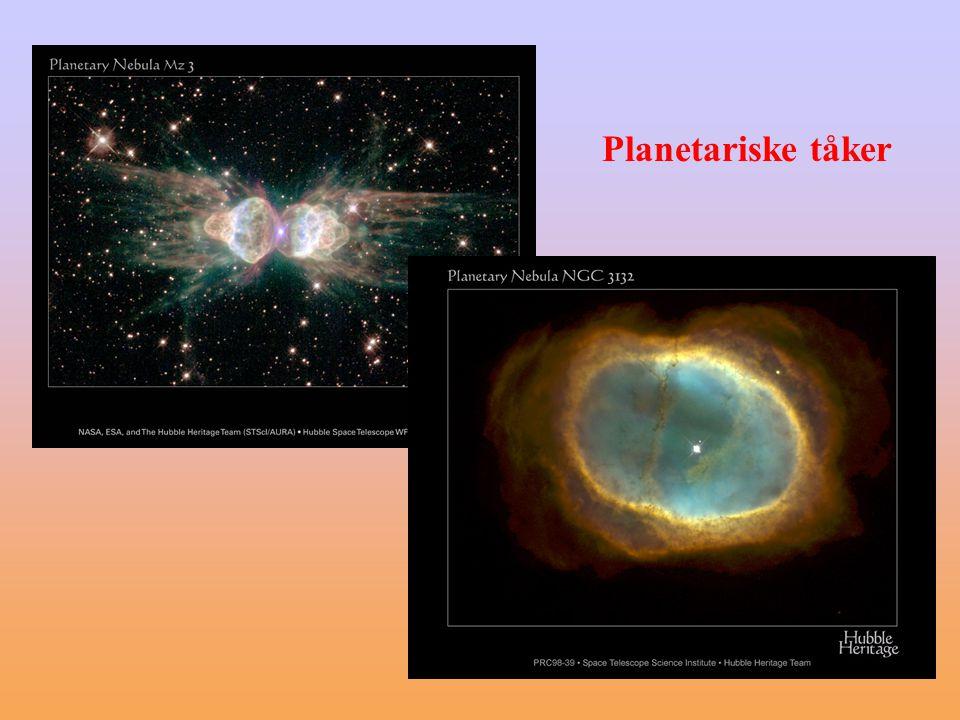 Planetariske tåker