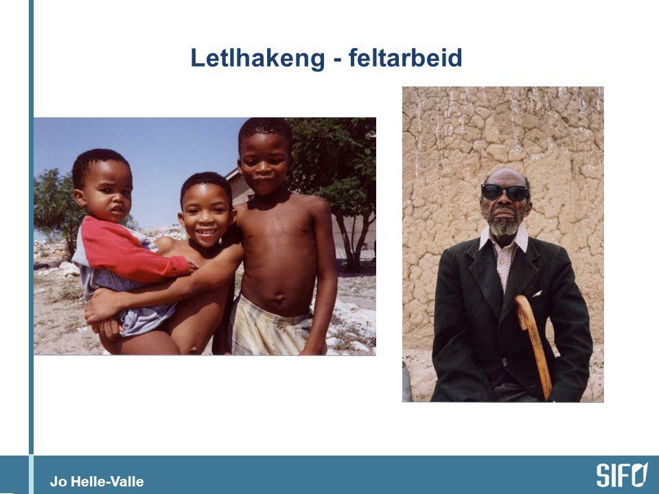 Jo Helle-Valle Sosialitet i rask endring – enorme variasjoner (i verdier, holdninger, praksiser)