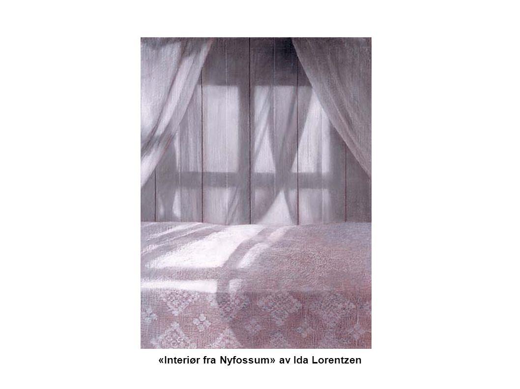 «Interiør fra Nyfossum» av Ida Lorentzen