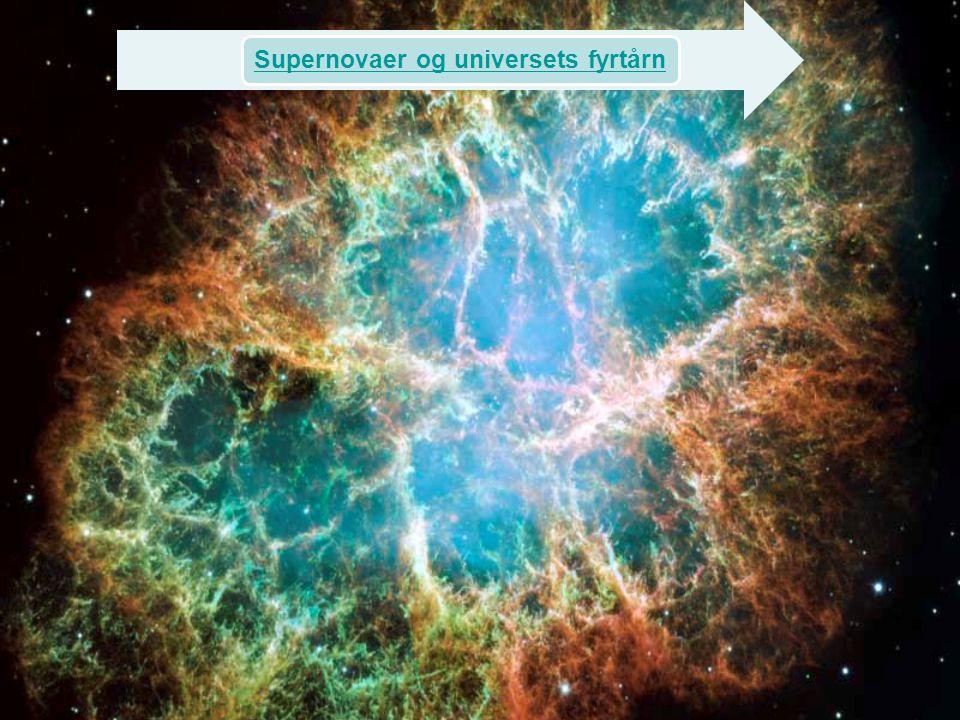 Supernovaer og universets fyrtårn
