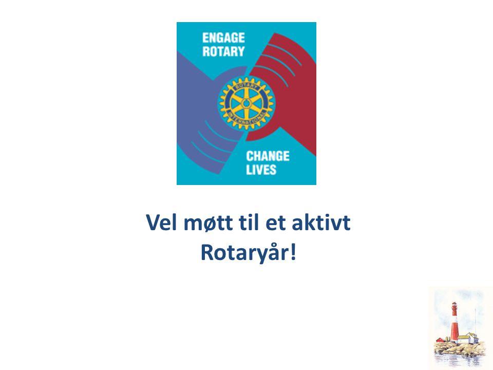 Vel møtt til et aktivt Rotaryår!