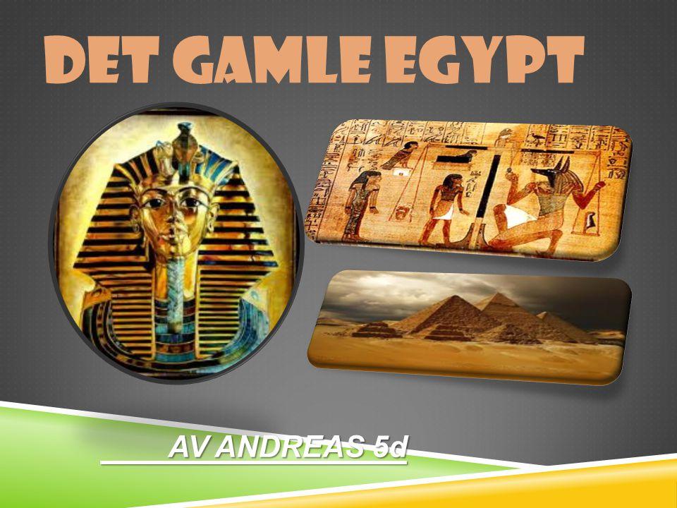 DET GAMLE EGYPT AV ANDREAS 5d