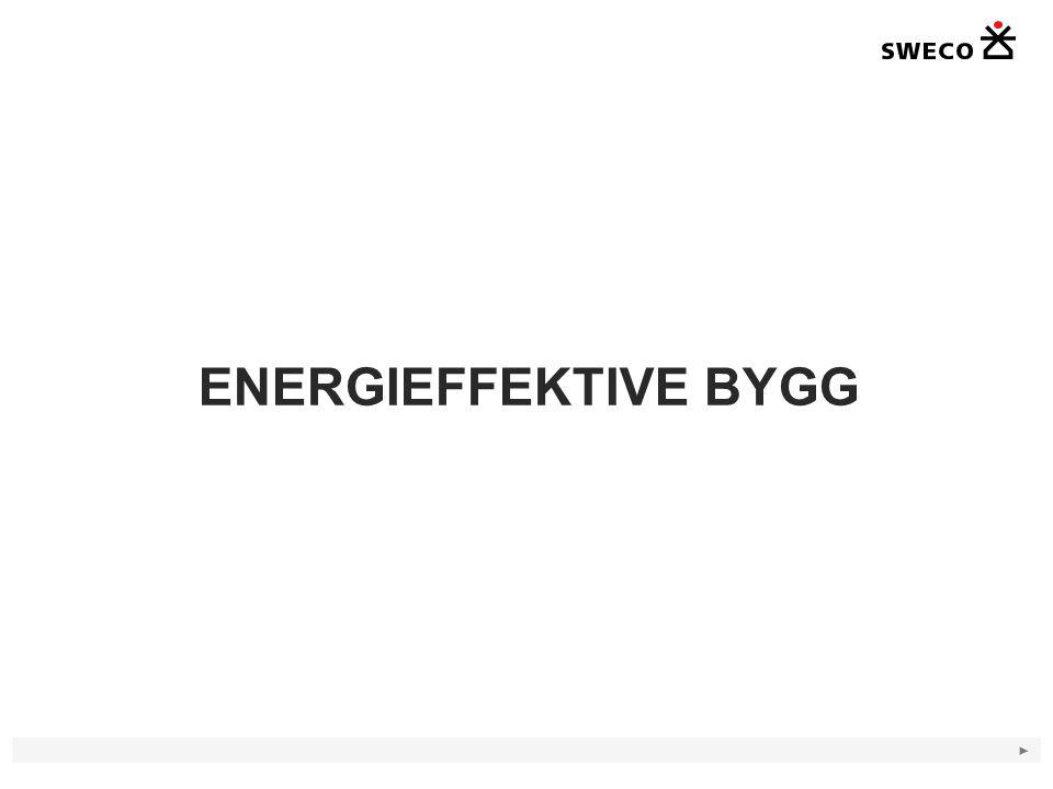 ► ENERGIEFFEKTIVE BYGG