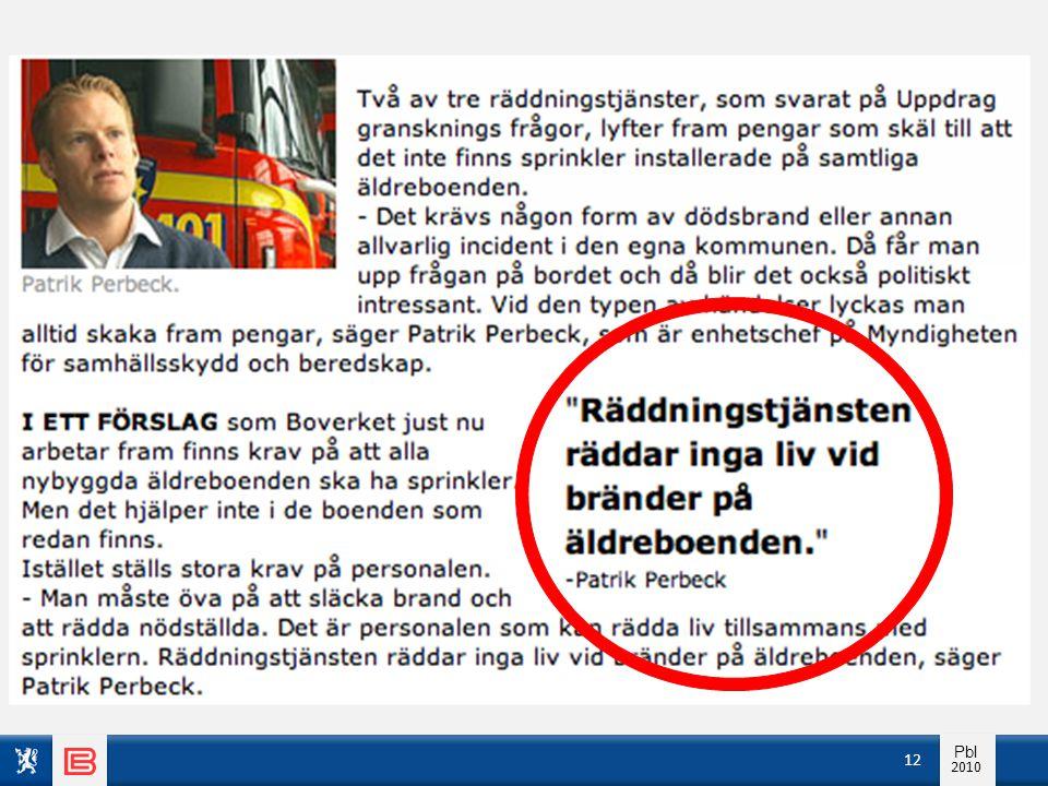 Info pbl 2010 Pbl 2010 12