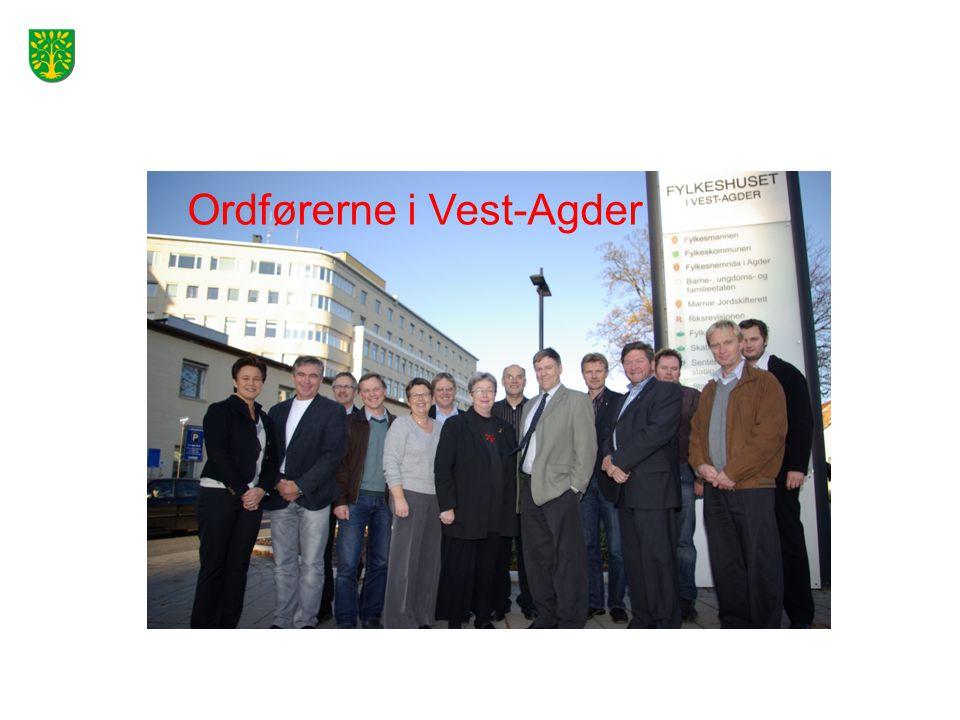 Ordførerne i Vest-Agder