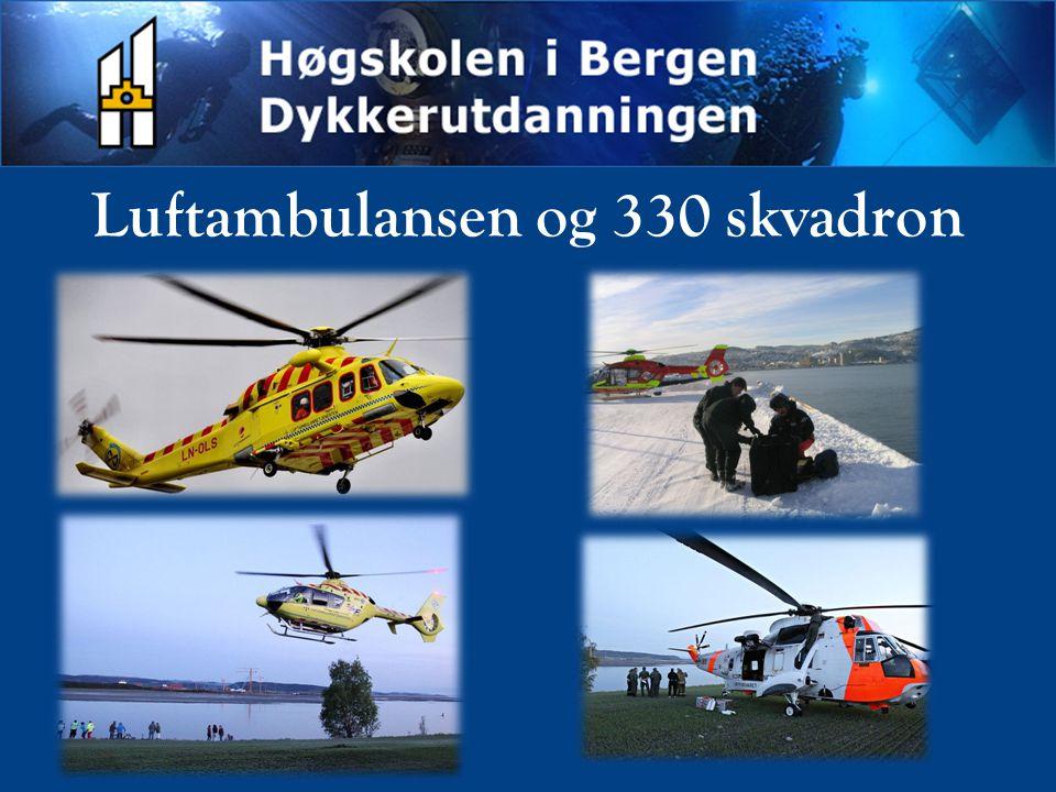 Luftambulansen og 330 skvadron