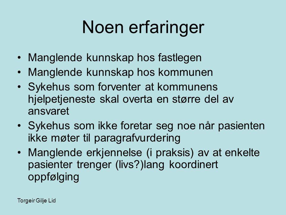 Torgeir Gilje Lid Tvang eller….