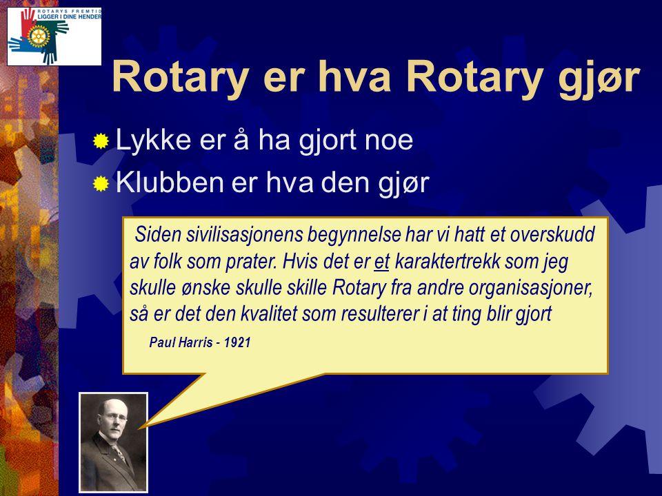Rotary-Klubben  Rapportering av fremmøte  Før den 10de til: sekr.2270@rotary.no  Rapportere medlemsendringer  Inn-/Utmeld.