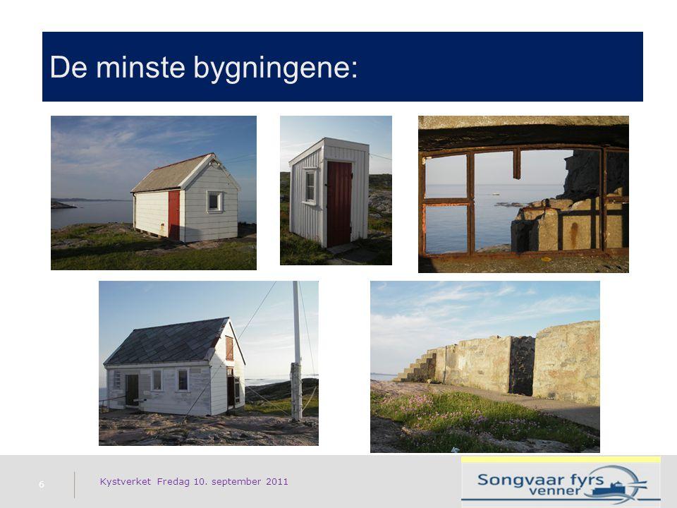 De minste bygningene: 6 Kystverket Fredag 10. september 2011