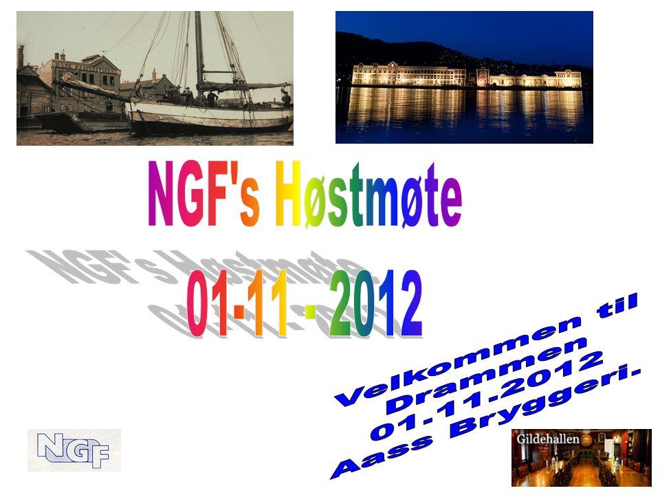 Program 01.11.2012: Møtested: Gildehallen, Aass Bryggeri Kl.
