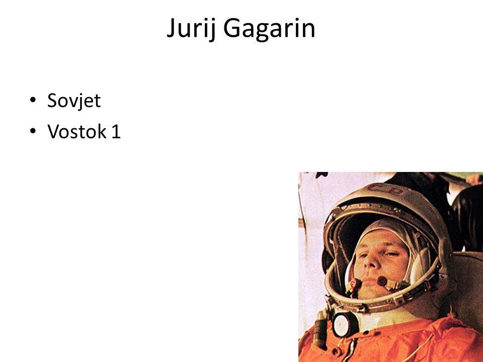 Jurij Gagarin • Sovjet • Vostok 1