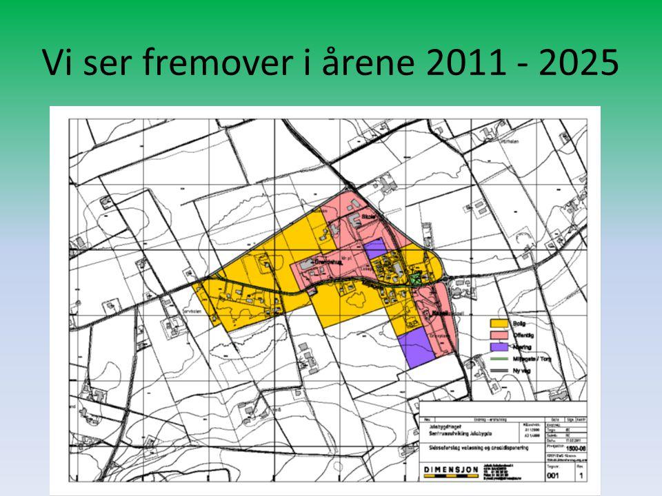 Vi ser fremover i årene 2011 - 2025