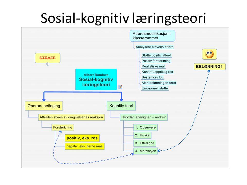 Sosial-kognitiv læringsteori