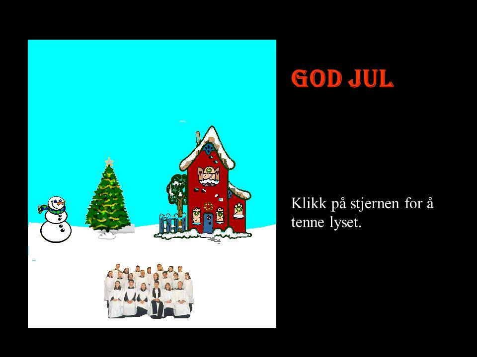 God Jul og gott nytt år !! Slutt Sånn ser et ordentlig julekort ut.