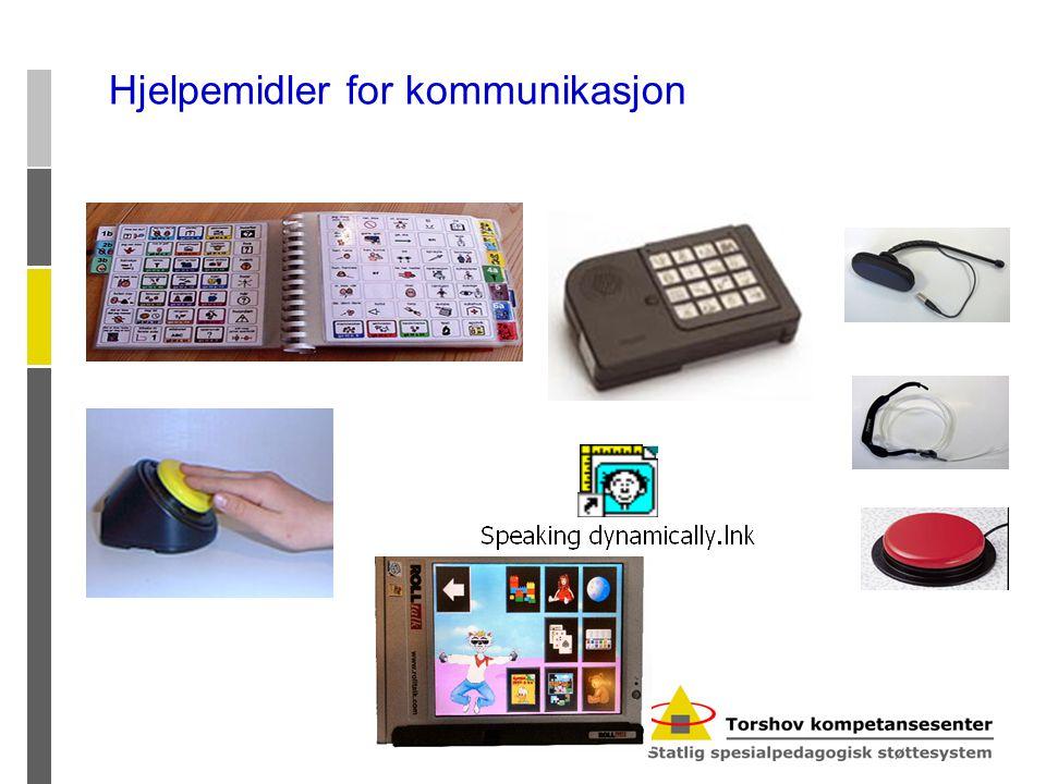 Hjelpemidler for kommunikasjon