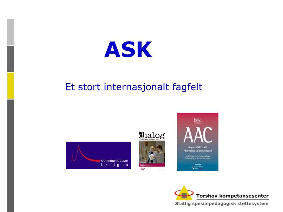 Et stort internasjonalt fagfelt ASK