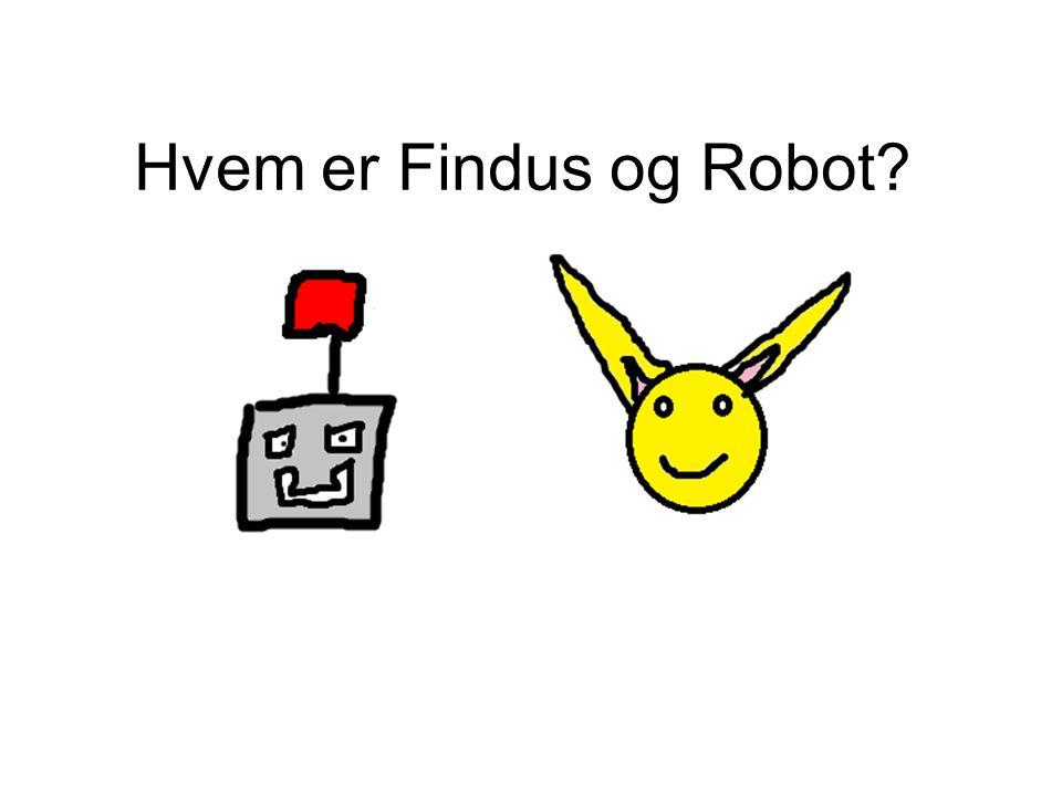Hvem er Findus og Robot?