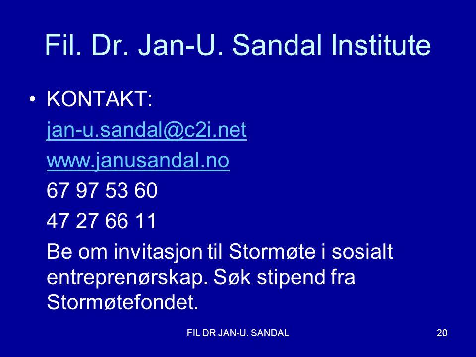 FIL DR JAN-U.SANDAL20 Fil. Dr. Jan-U.