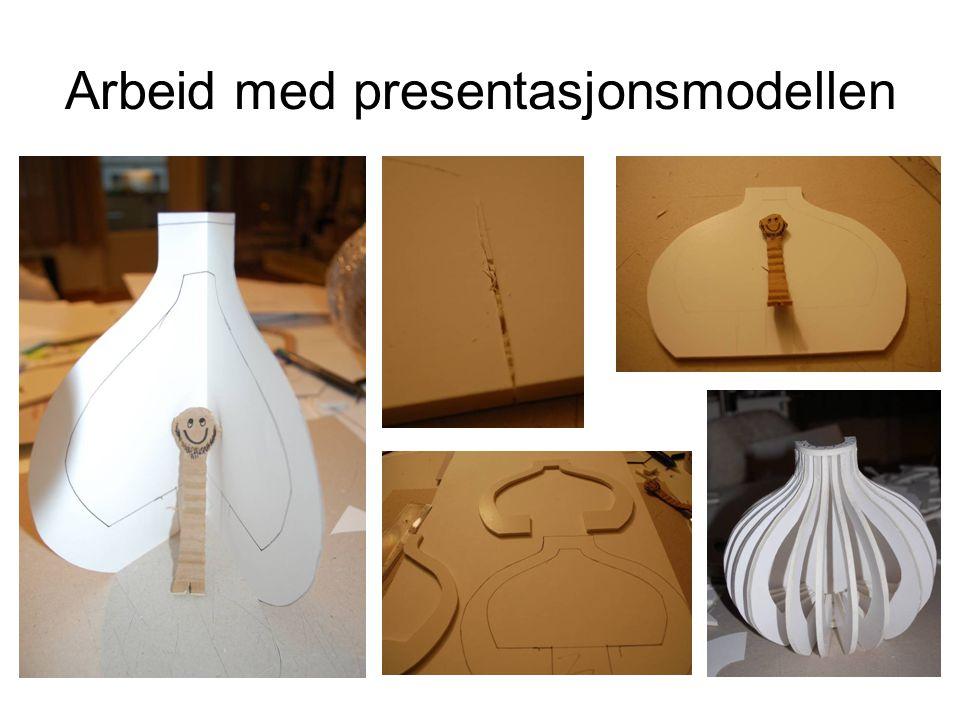 Arbeid med presentasjonsmodellen