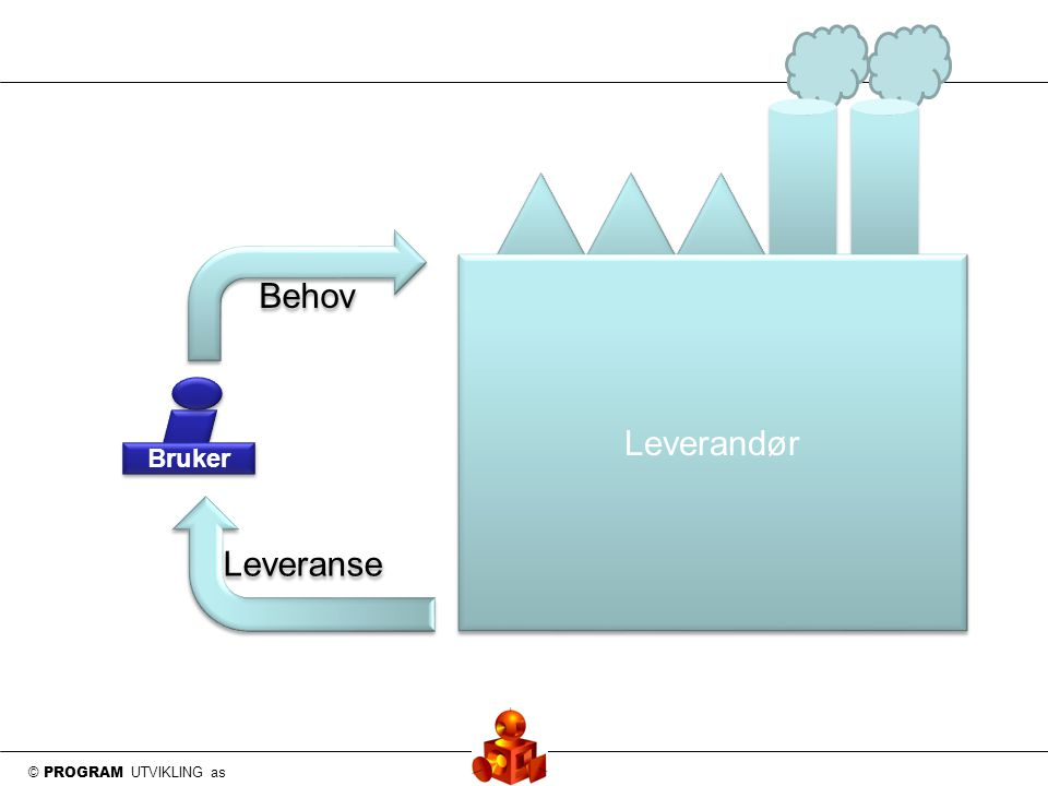© PROGRAM UTVIKLING as Bruker Behov Leveranse Leverandør