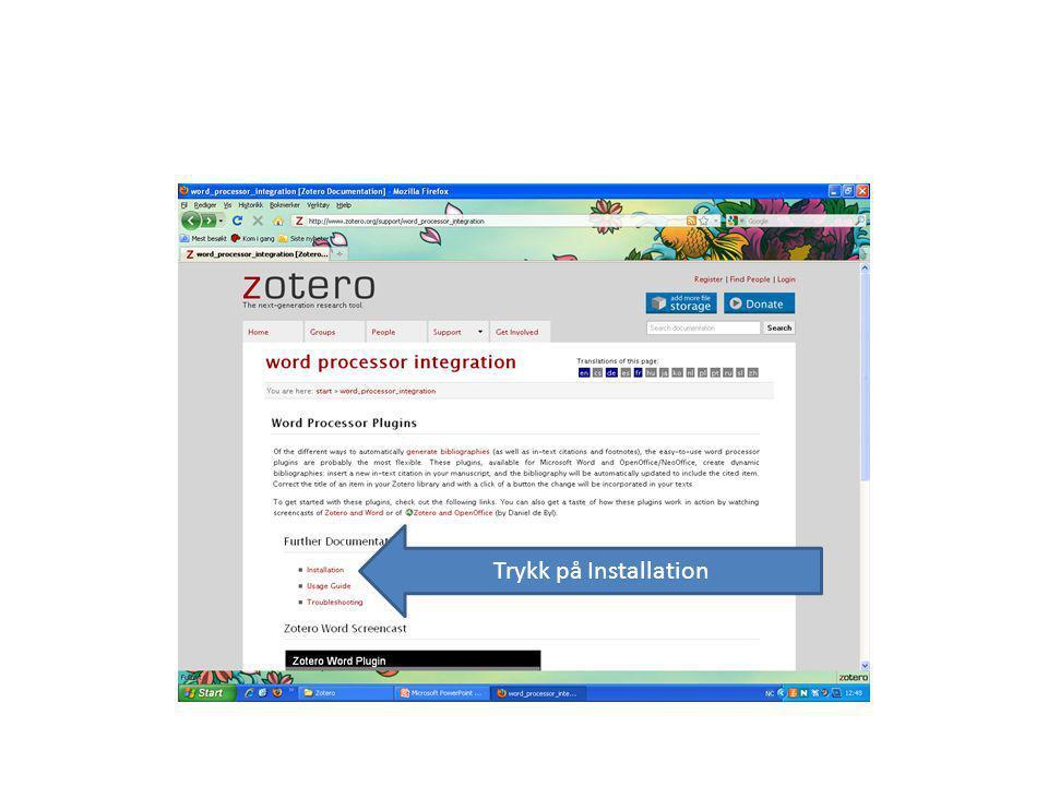 Bla deg ned til Install world for windows plugin og trykk