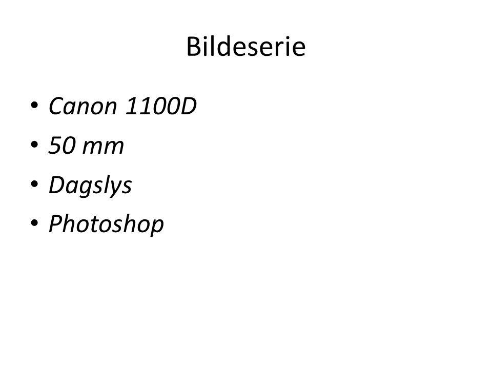 Bildeserie • Canon 1100D • 50 mm • Dagslys • Photoshop