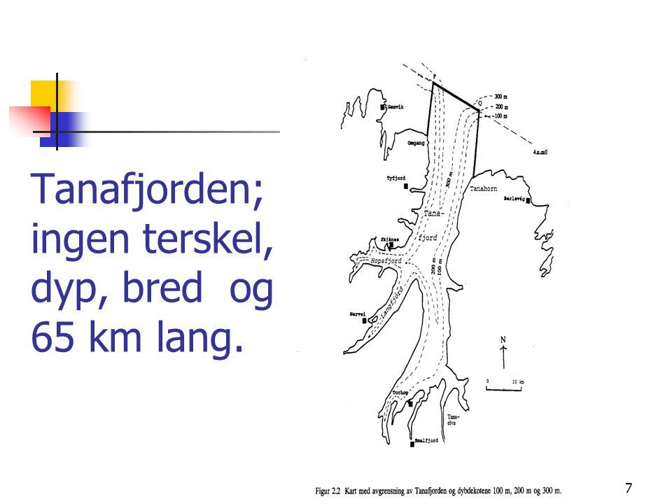 8 Noen forskjeller mellom fjord- og kysttorsk og skrei Ivar Pettersen v/Høyskolen i Bodø, hevder følgende forskjeller mellom Kysttorsk (KT) og norøstarktisk torsk (NØAT) - Forskjeller i vandringsmønster, spesielt i gytetiden - Forskjell mellom ulike komponenter av kysttorsk - Forskjell i parasittfauna (f.eks svarprikk ikte, gjellemark) - Ytre forskjeller på; halerotens tykkelse, finner, lengde-omkretsfaktor, hodeform, osv.