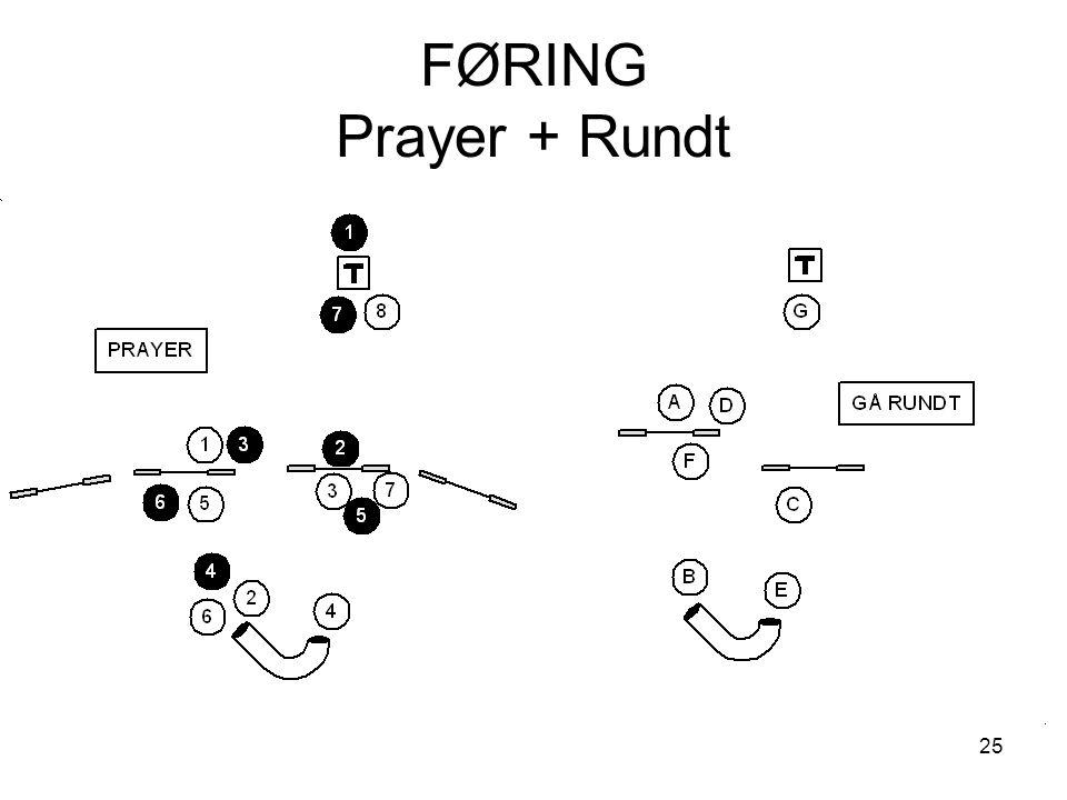 25 FØRING Prayer + Rundt