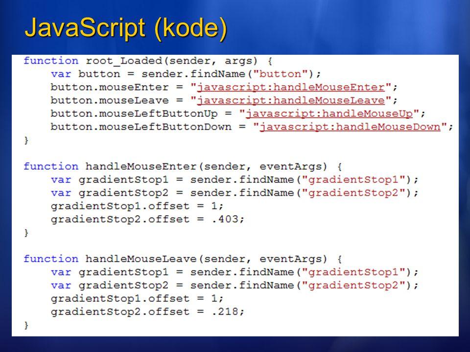 JavaScript (kode)