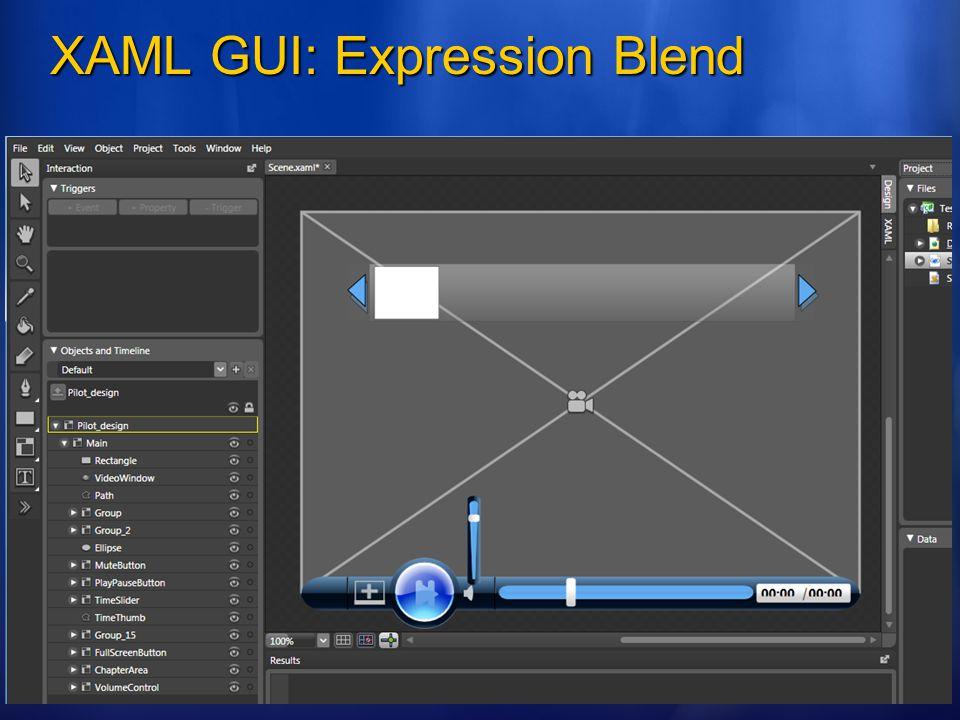 XAML GUI: Expression Blend