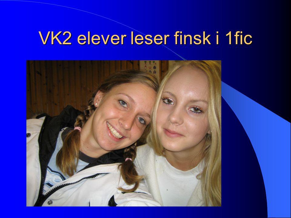 VK2 elever leser finsk i 1fic