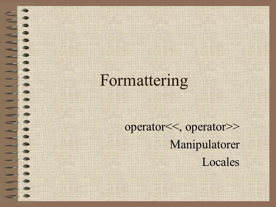 Formattering operator > Manipulatorer Locales