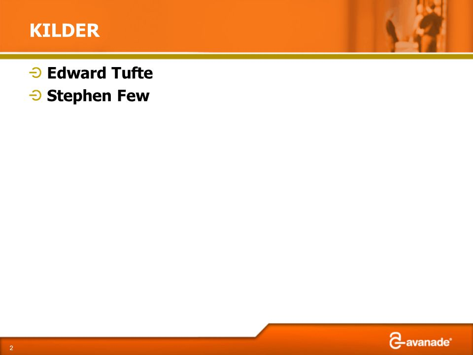 KILDER Edward Tufte Stephen Few 2