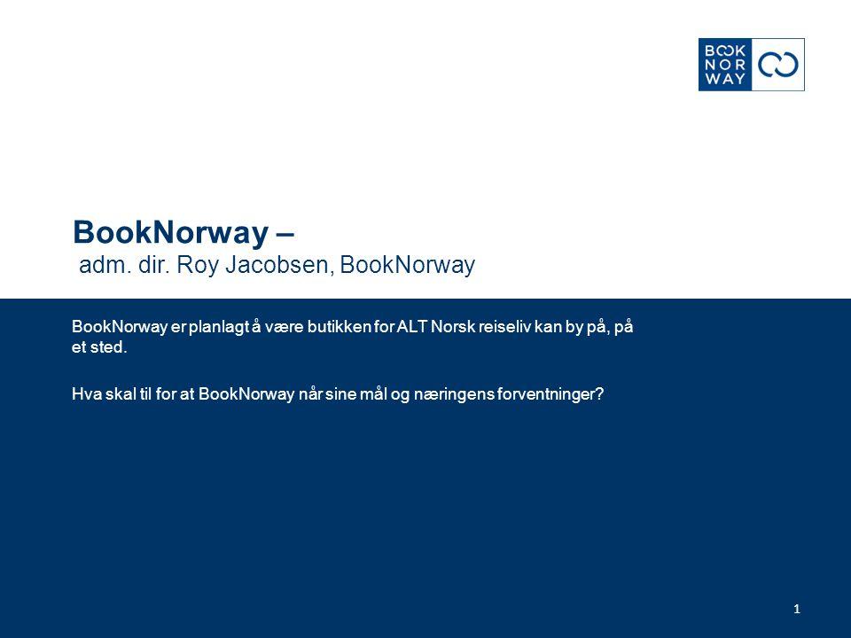 Visjon BookNorway skal gjøre VisitNorway bookbar gjennom en enkel og kostnadseffektiv bestillingsløsning med det mest komplette tilbud av norske reiseopplevelser.