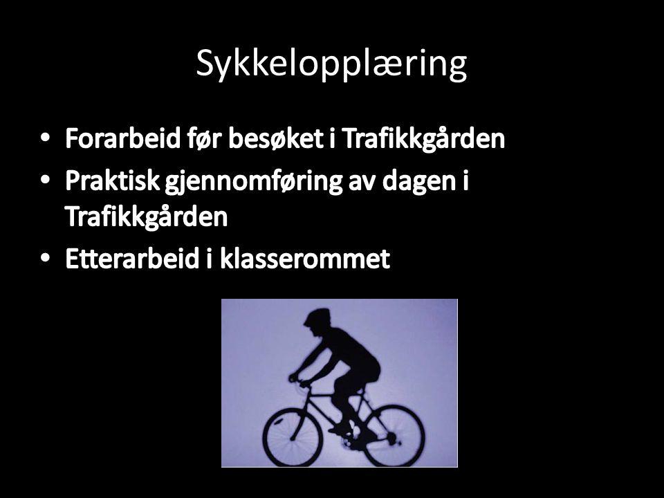 Sykkelopplæring