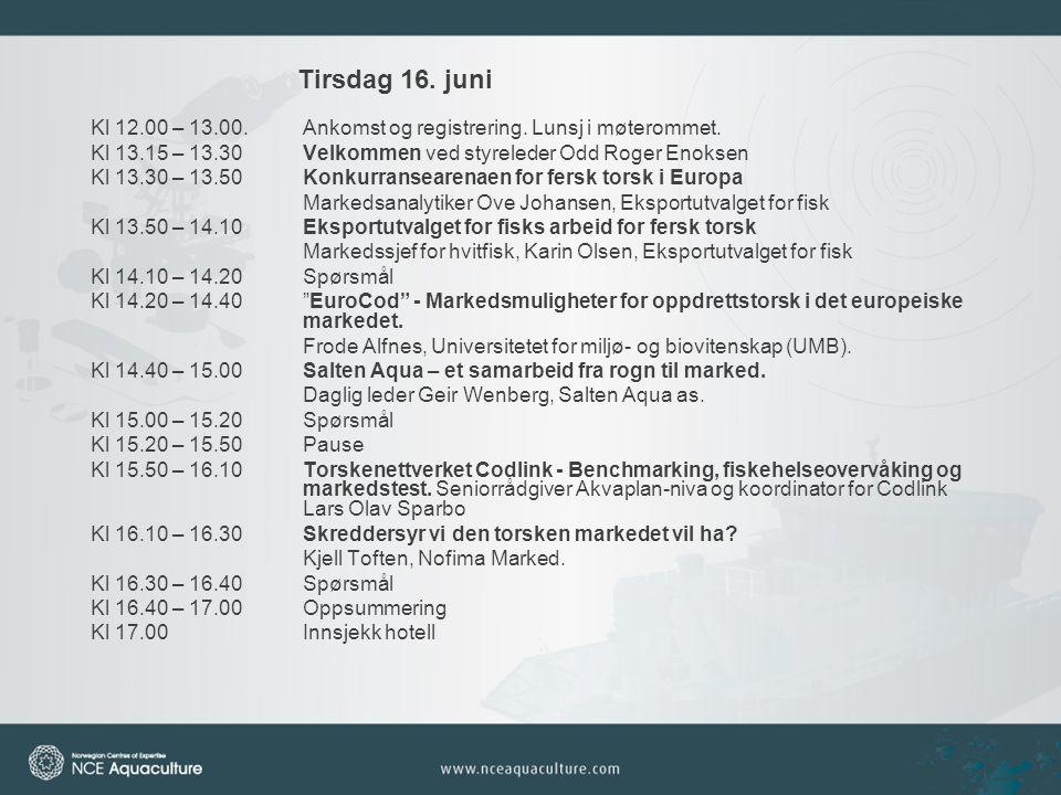 Kveldsprogram tirsdag 16.juni Kl 17.30Avgang med buss fra Thon Hotel Nordlys til Hurtigrutekaien.