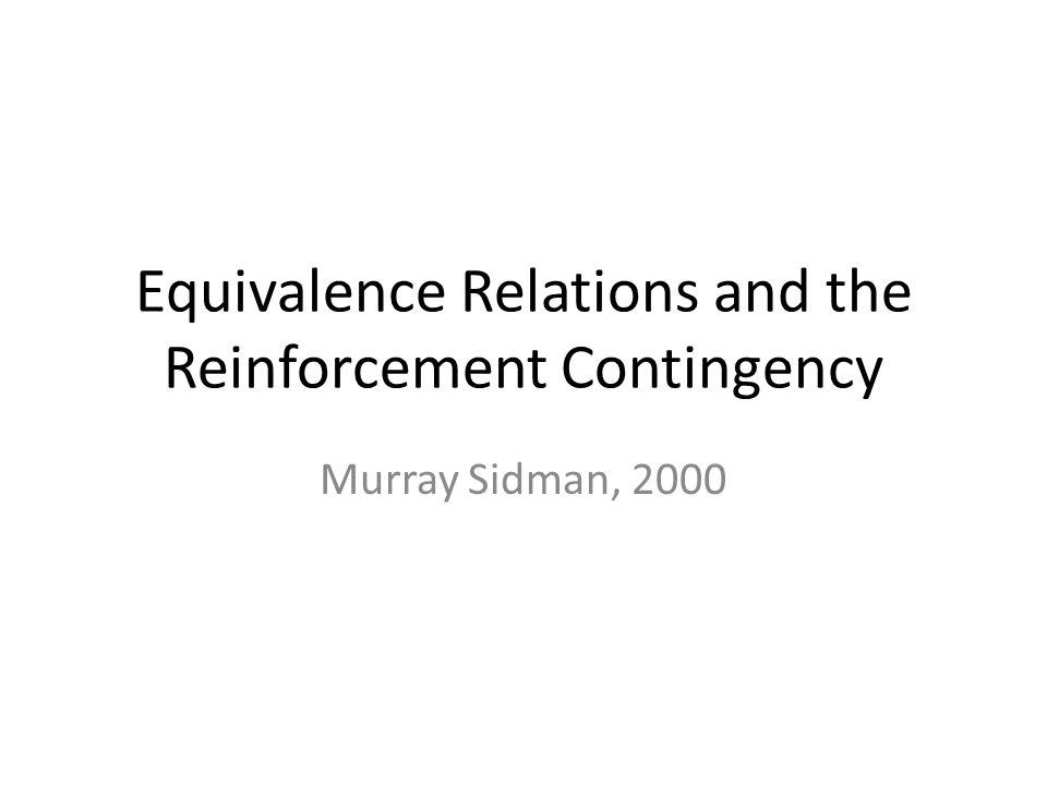 Dube & McIlvane, 1995 Identitetsmatching.