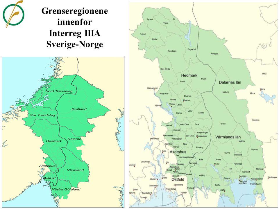 Hvor i Sverige betyr pendlingen til Norge mest.