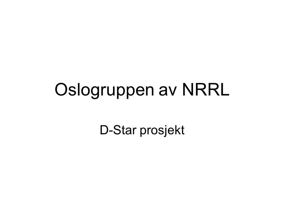 Oslogruppen av NRRL D-Star prosjekt