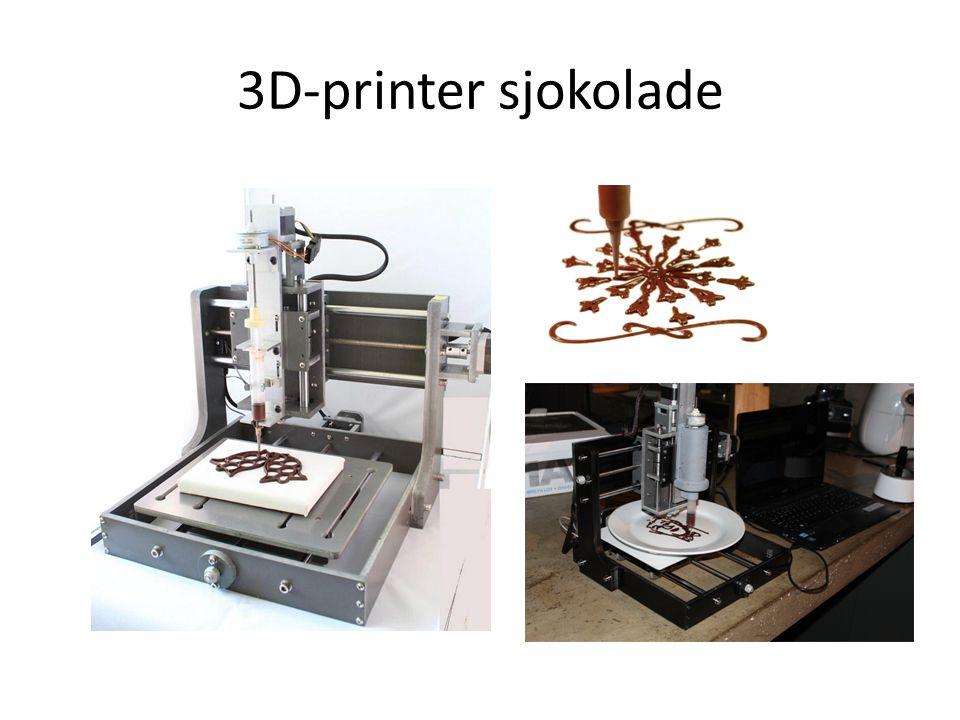 3D-printer sjokolade