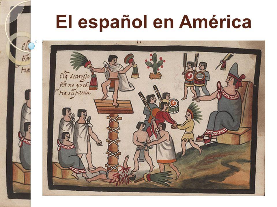 Plan for foredraget  En rund verden  Spansk i Amerika