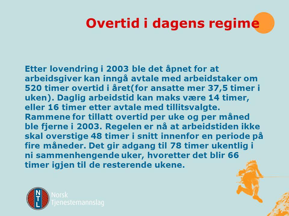 § 10-5 Gjennomsnittberegning av arbeidstiden 1)Arbeidsgiver og arbeidstaker kan skriftlig avtale at den alminnelige arbeidstid kan ordnes slik at den