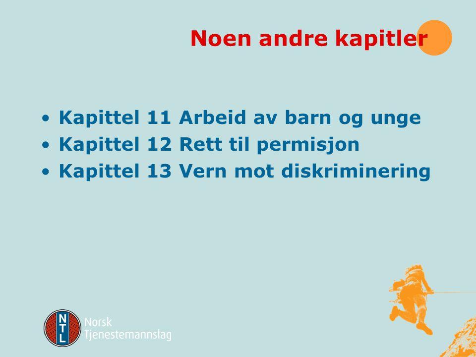 § 10-13 Tvisteløsning Tvist mellom arbeidsgiver og arbeidstaker om anvendelsen av bestemmelsene i § 10-2 andre, tredje og fjerde ledd og 10-6 åttende