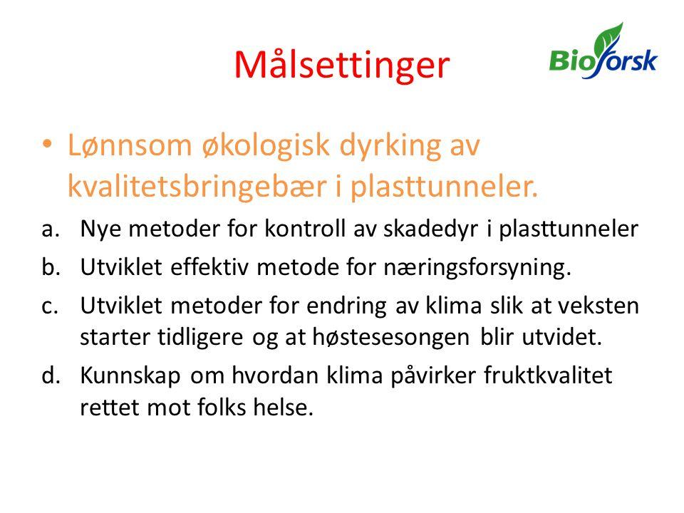 Veksteffekter av gjødsling Alvestad/Alvereng GjødselslagKg N per daaSkudd/Pl.Skuddl i cmKommentar Agrom + Oase53,480Ingen gulning 83,578Ingen Gulning Uten Oase34,675Gulning 65,079Gulning + rødskjær Hønsegj.
