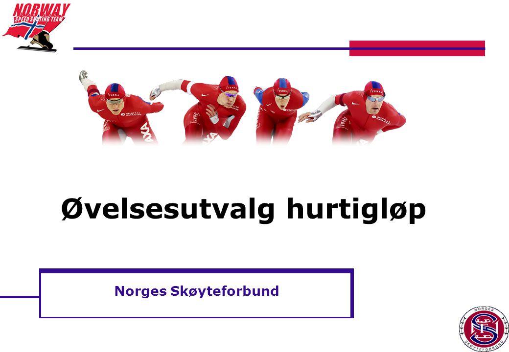Norges Skøyteforbund Øvelsesutvalg hurtigløp