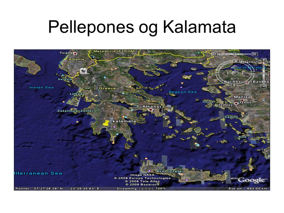 Pellepones og Kalamata