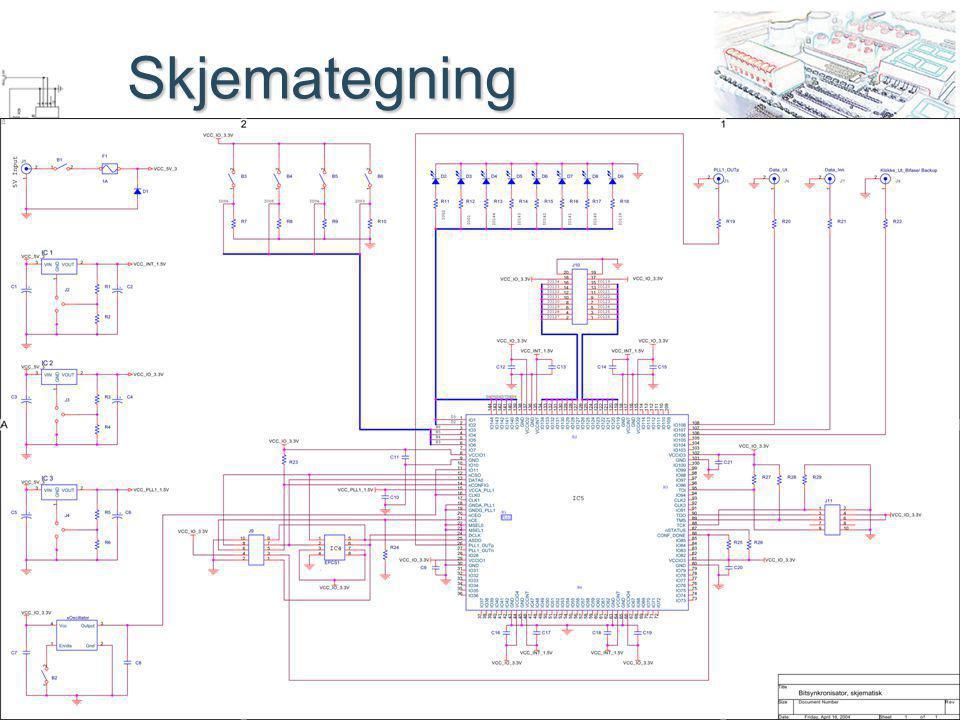 Fulldigital bitsynkronisator Prosjektgruppe 59 Skjemategning