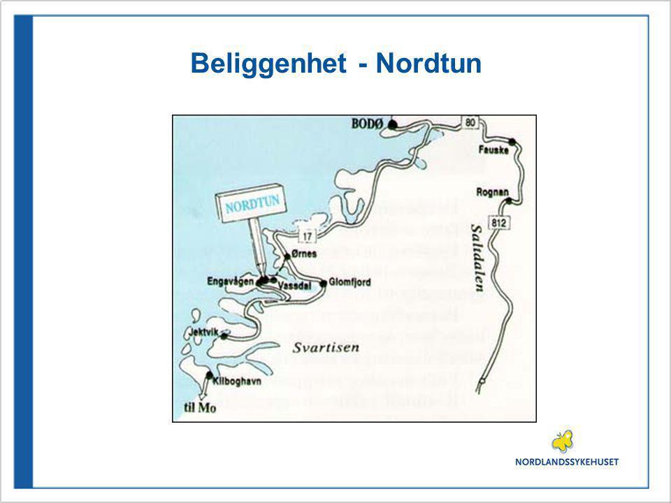 Beliggenhet - Nordtun
