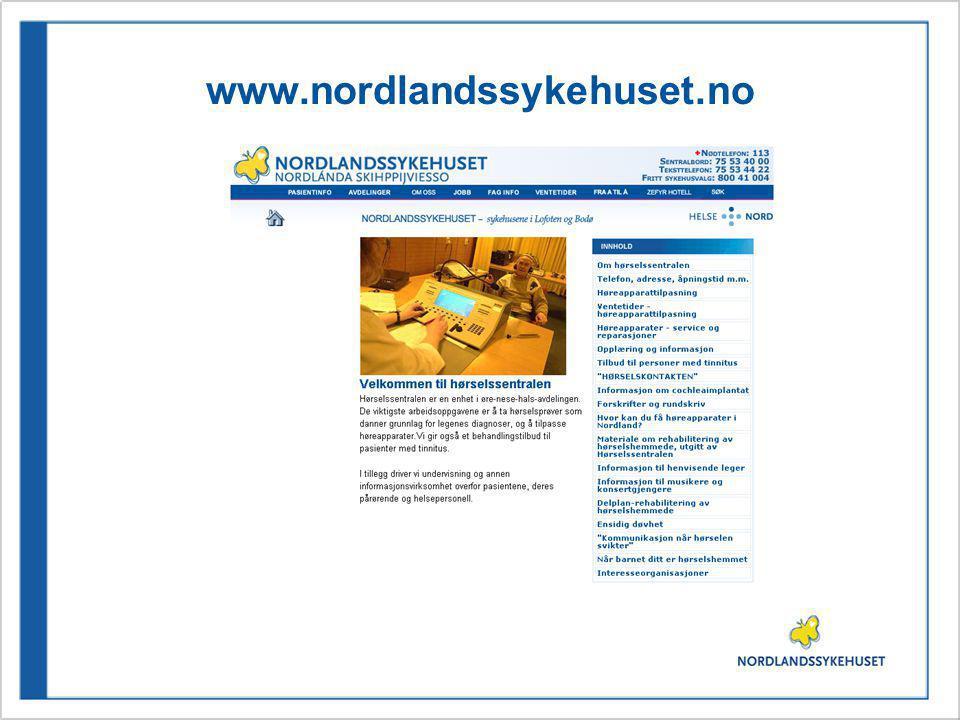 www.nordlandssykehuset.no